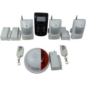 camera de surveillance gsm et 7 d tecteurs avec sir ne alarme. Black Bedroom Furniture Sets. Home Design Ideas
